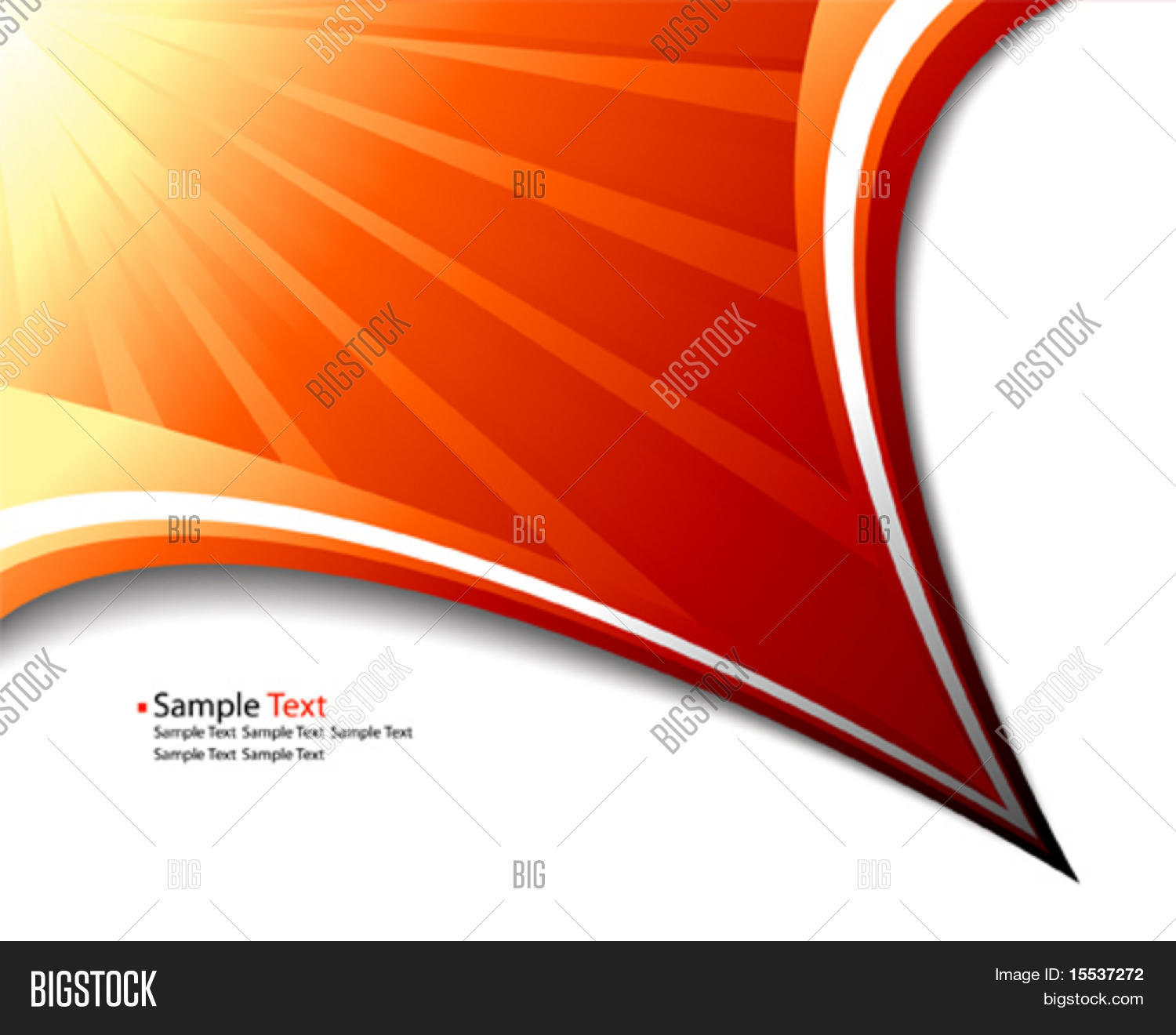 Vector Sun Rays Vector & Photo (Free Trial) | Bigstock