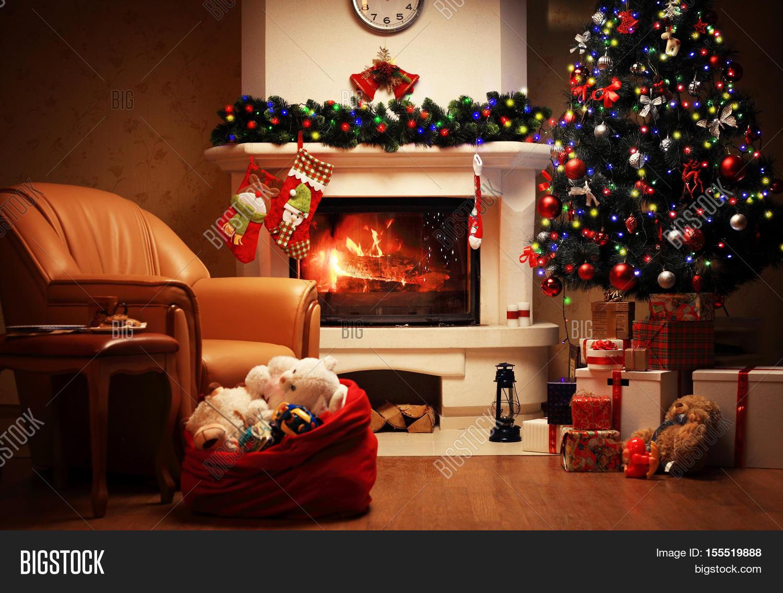Christmas Tree Image Photo Free Trial Bigstock