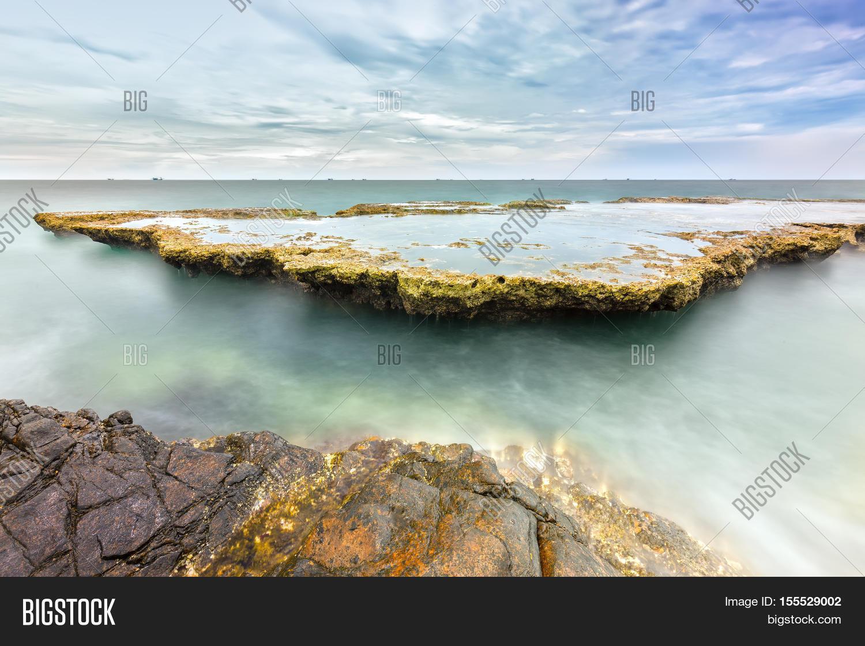 Wonderful Seascape Sea Waves Image Photo Bigstock