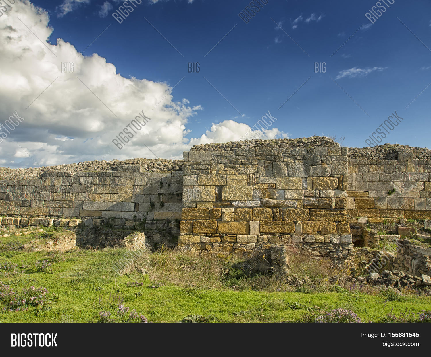 Dramatic Blue Sky Image Photo Free Trial Bigstock