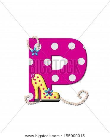 Alphabet Shoe Dive P