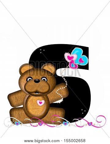 Alphabet Teddy Valentines Cutie S