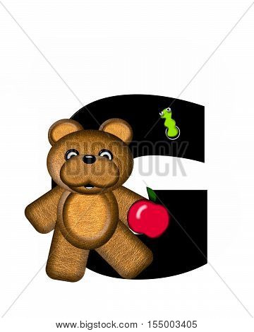 Alphabet Teddy G