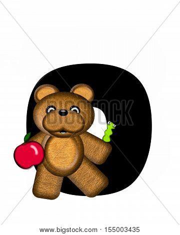Alphabet Teddy O