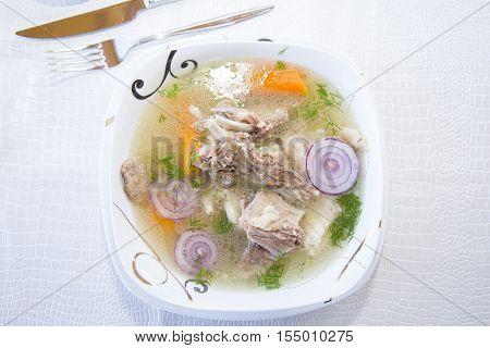 Buhler - Buryat Soup With Lamb.