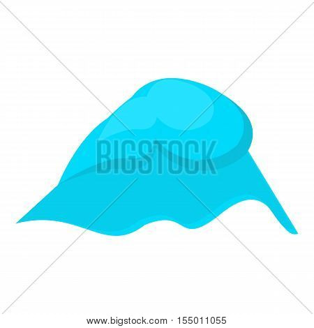 Big wave icon. Cartoon illustration of big wave vector icon for web