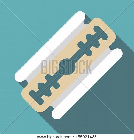 Razor blade icon. Flat illustration of razor blade vector icon for web