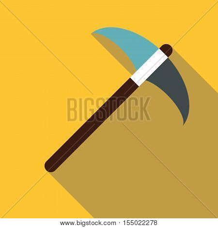 Pick tool icon. Flat illustration of pick tool vector icon for web
