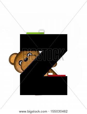Alphabet Teddy Dental Checkup Zz