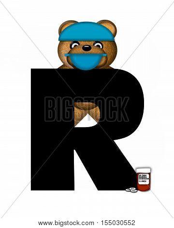 Alphabet Teddy Dental Checkup