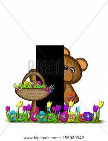 Alphabet Teddy Easter Egg Hunt I