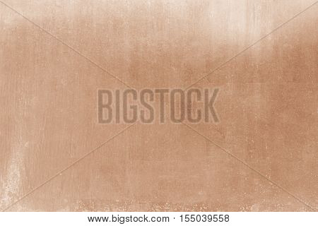 Rose Gold Wall Background Or Texture And Shadow, Old Metal