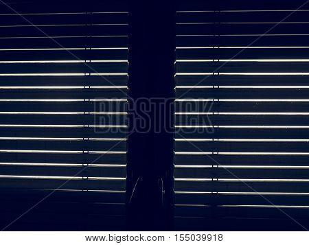 Vintage Looking Window Blinds