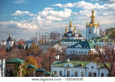 View Of Kiev Pechersk Lavra