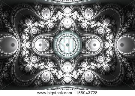 Fractal line. Fractal background. Fractal pattern. Fractal art. Fractal design. Fractal ornament