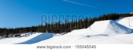 Snow Park In Trysil