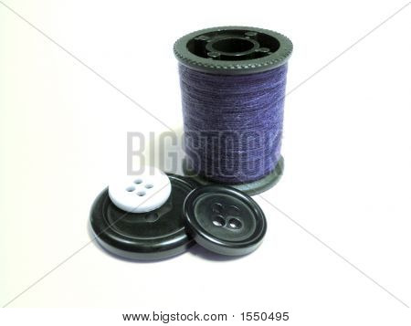 Sewing - Reel Wires And Buttons