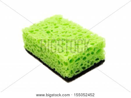 kitchen sponges clean equipment on a white background