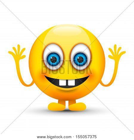 a yellow bucked teeth emoji icon image