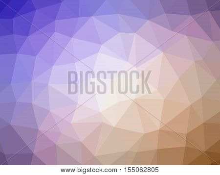 Abstract orange pruple gradient polygon shaped background.