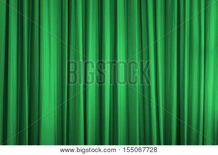 curtain decorate for background - Stock Photo