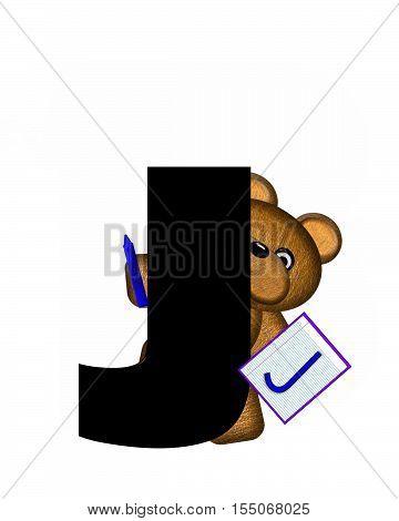 Alphabet Teddy Homework J