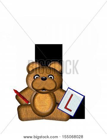 Alphabet Teddy Homework L
