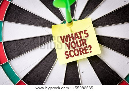 Whats Your Score?