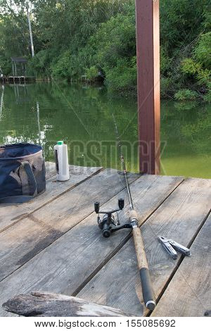 Set For Fishing With Plier.
