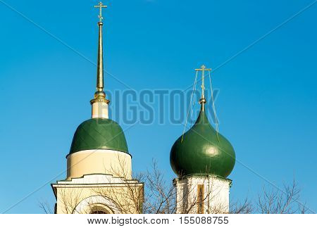 Maxim Cathedral Church in a Varvarka Street, Moscow, Russia