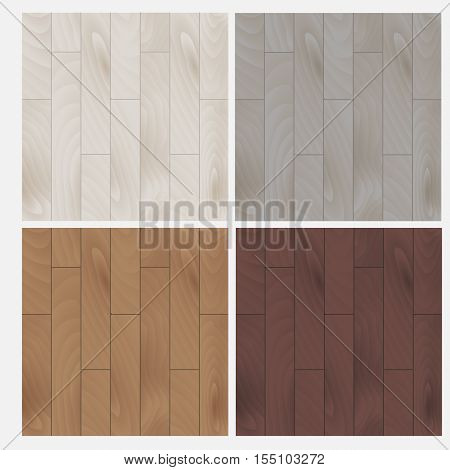 Parquet board. Laminate. Wood texture background vector illustration