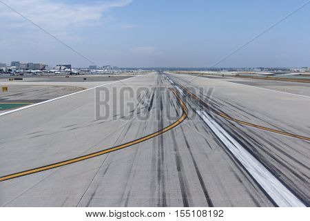 Airplanes In Lax International Airport