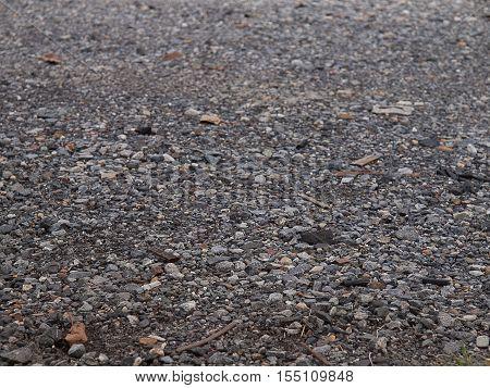 gravel gray stone textures concrete in road construction