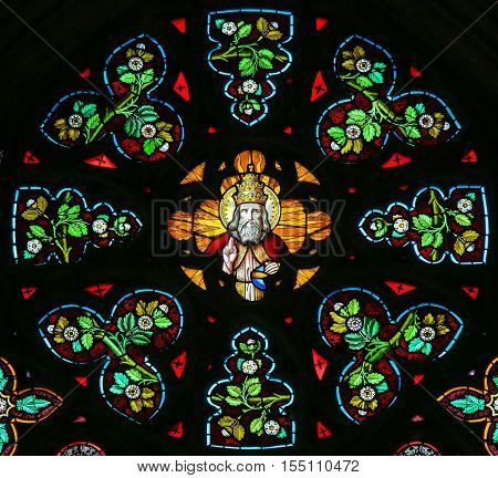 Stained Glass - God In Heaven