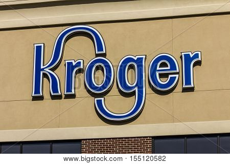 Indianapolis - Circa November 2016: Kroger Supermarket. The Kroger Co. is One of the World's Largest Grocery Retailers IV
