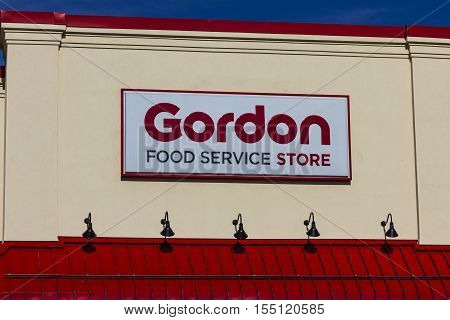 Indianapolis - Circa November 2016: Gordon Food Service Store. GFS is the largest privately held foodservice distributor in North America I
