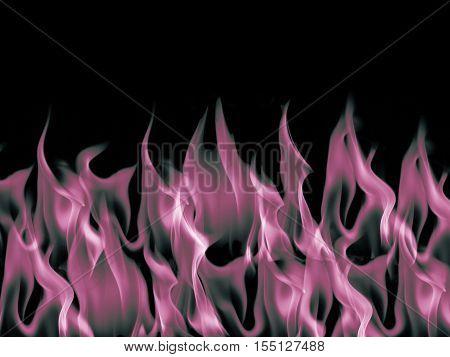 Pink dark blaze flame fire burn background