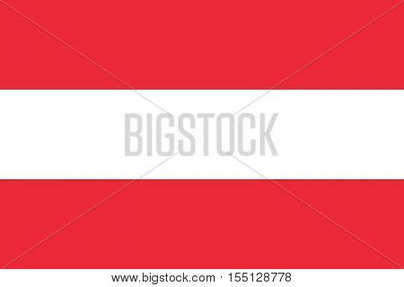 Official vector flag of Austria . Republic of Austria .