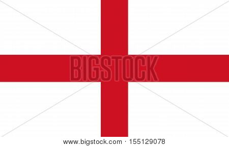 Official vector flag of England . Part of the United Kingdom .