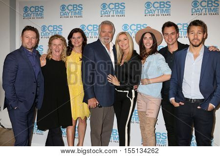 LOS ANGELES - NOV 3:  Bold and Beautiful Cast Members at the BnB Celebrates CBS #1 for 30 Years at Paley on November 3, 2016 in Beverly Hills, CA