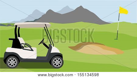 Golf Field Backhround