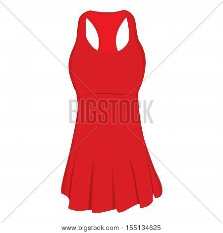 Tennis Dress Vector