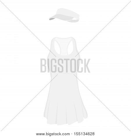 Tennis Dress And Cap