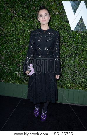 LOS ANGELES - NOV 2:  Marta Pozzan at the Who What Wear 10th Anniversary #WWW10 Experience at Private Location on November 2, 2016 in Los Angeles, CA