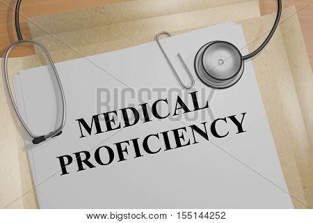 Medical Proficiency Concept