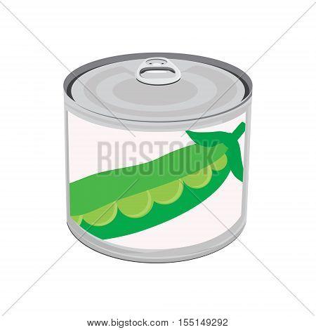 Canned Food Peas