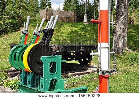 old railroad hand signaling and telecommunication signaling