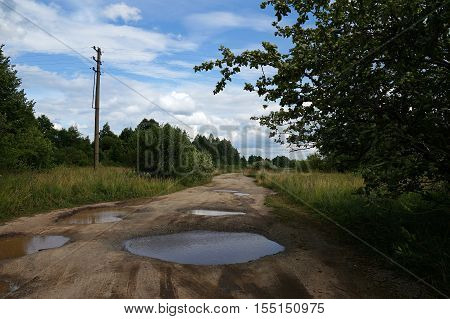 road, forest, mud, background, dirty, nature, grass, landscape, off-road, scene