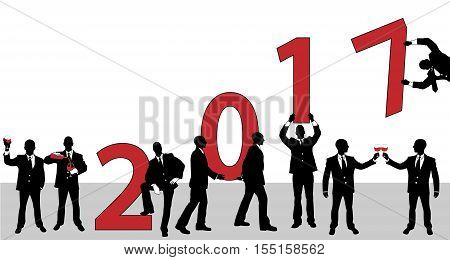 2017 HAPPY NEW YEAR BUSSINES MAN for web