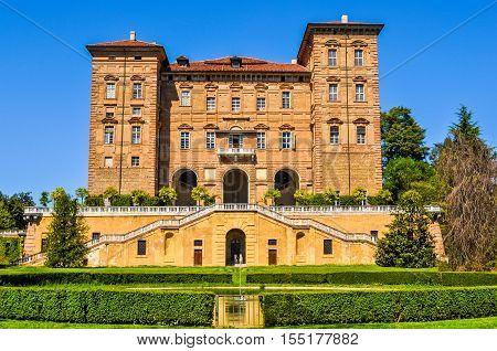 Hdr Aglie Castle